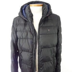 Tommy Hilfiger Men's Bomber Hoodie Jacket